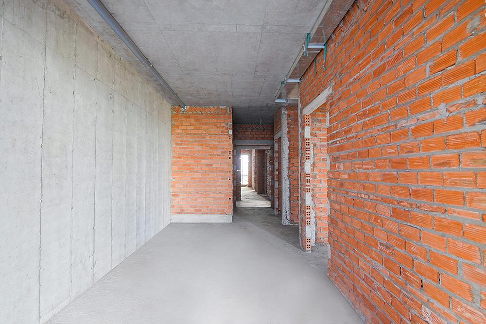 Xây tường căn hộ từ tầng 5 đến tầng 27 Block Venus