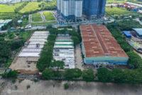 Công trường gần Q7 SaiGon Riverside thi công 2 bệnh viện dã chiến gần 6.000 giường