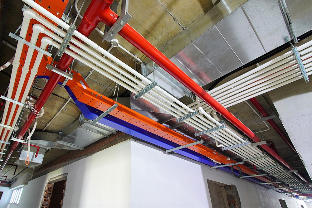 Hoàn thành hệ thống M&E hành lang tầng 34 Block Mercury và Block Uranus dự án Q7 SaiGon Riverside